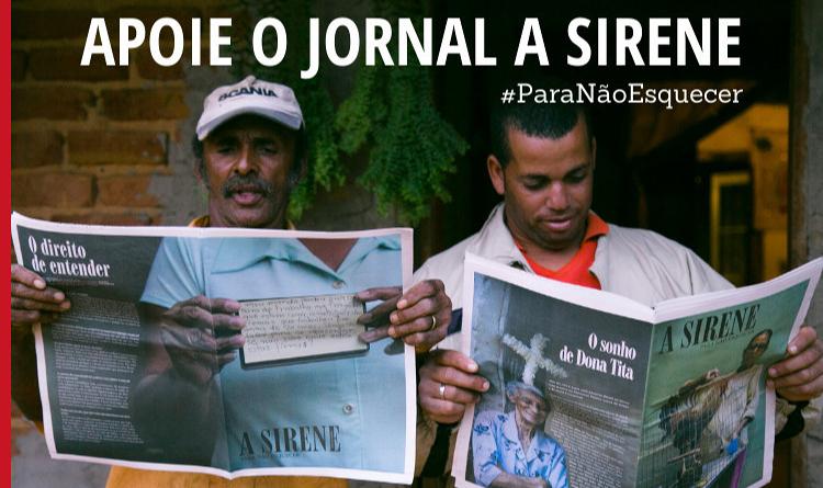 Apoie o Jornal A Sirene