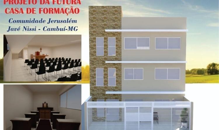 Construção da Casa de Formação Comunidade Jerusalém Javé Nissi - RCA