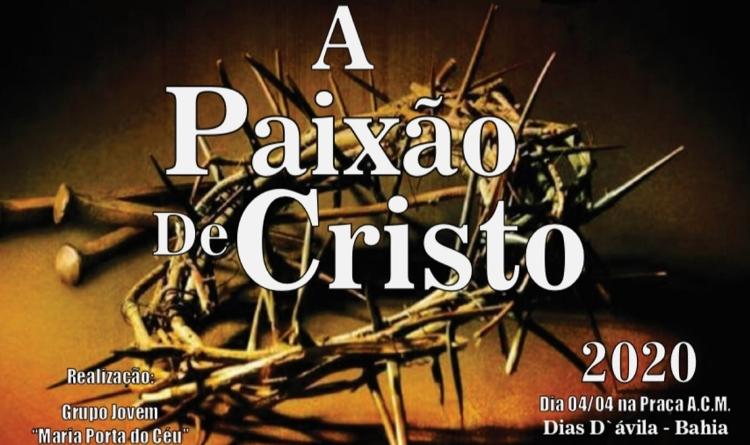 """Montagem - """"A Paixão de Cristo"""" (Aberto ao Público)"""